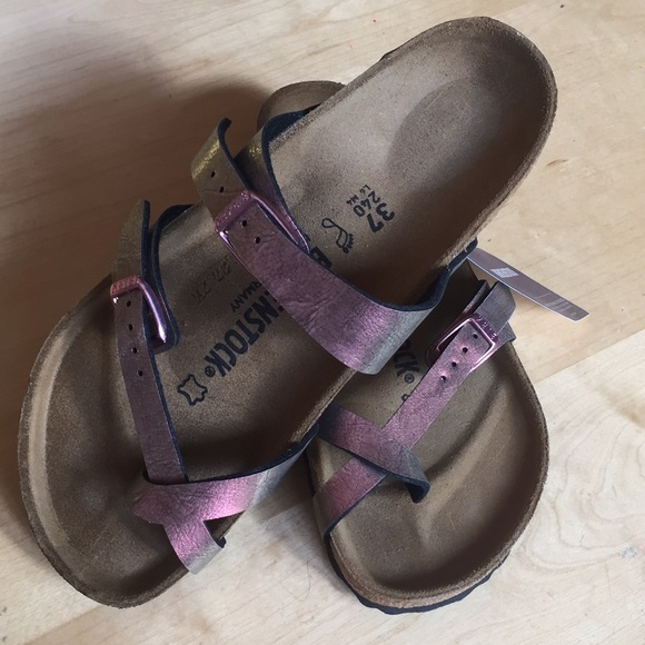 f957a7f36f8 Brand New - Birkenstock Mayari Graceful Gem Red 37